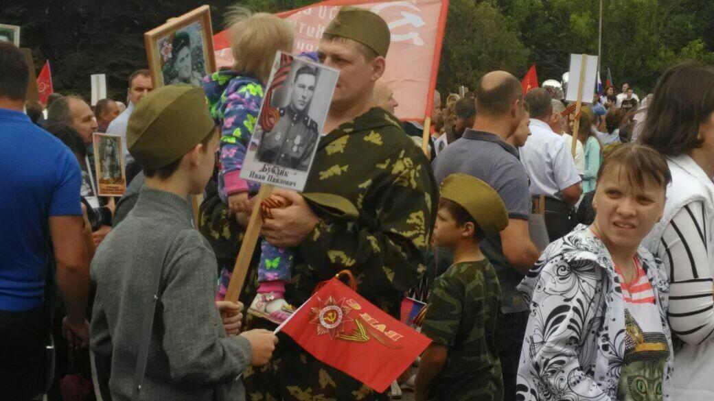 """""""Бессмертный полк"""" прошел по Таганрогу, фото-1"""