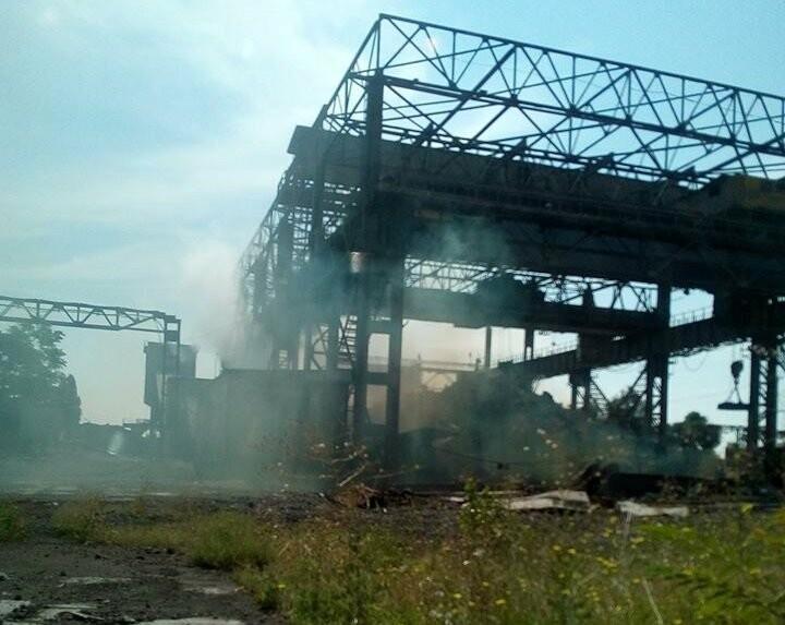 Сине-сизый дым на «Тагмете» вызвал подозрения у таганрожцев , фото-1