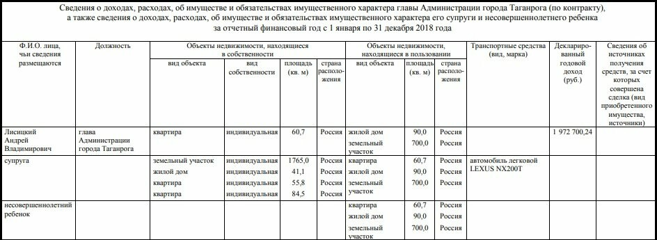 В Таганроге декларация Андрея Лисицкого оказалась в папке городской думы, фото-2